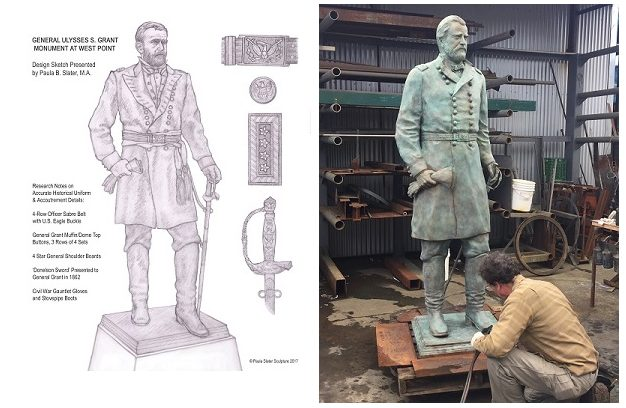 Grant Statue Design and Fabrication