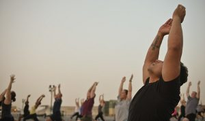 Yoga instead of opioids