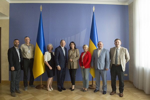 Team Photo at Ukraine VA