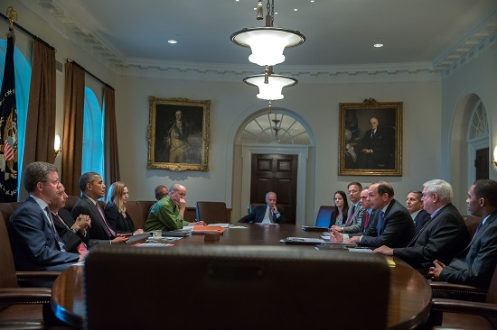 Cabinet Room Meeting